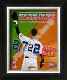Derek Jeter 2722 Hits Framed Photographic Print
