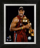 Alonzo Mourning 2006 NBA Finals Framed Photographic Print