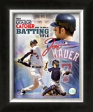 Joe Mauer Framed Photographic Print