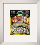 2008 Pittsburgh Steelers SuperBowl XLIII Champions Framed Photographic Print
