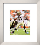 Jonathan Vilma 2008 Framed Photographic Print