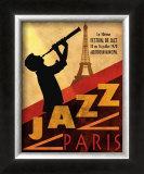 Jazz in Paris, 1970 Prints by Conrad Knutsen