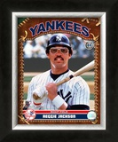 Reggie Jackson Framed Photographic Print
