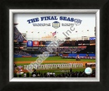 """Yankee Stadium 2008 Opening Day With Overlay """"The Final Season"""" Framed Photographic Print"""