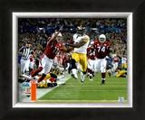 James Harrison Touchdown - Super Bowl XLIII Framed Photographic Print