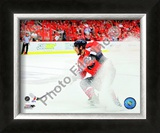 Alex Ovechkin - 2009 Playoffs Framed Photographic Print