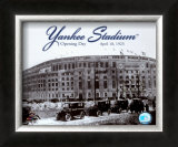 Yankee Stadium - 1923 Opening Day Framed Photographic Print