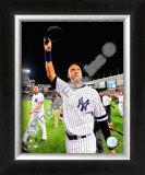 Derek Jeter Final Game at Yankee Stadium 2008 Framed Photographic Print