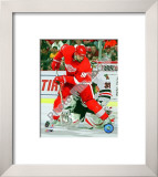 Tomas Holmstrom - 2009 Playoffs Framed Photographic Print