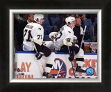 2006 - 2007 Evegeni Malkin And Sidney Crosby Framed Photographic Print