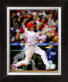Jayson Werth Game 4 of the 2008 MLB World Series Framed Photographic Print