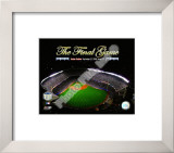 Yankee Stadium Aerial The Final Game 2008 Framed Photographic Print