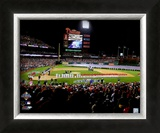 Citizens Bank Park Game 3 of the 2008 MLB World Series Framed Photographic Print