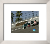 Dale Jr. Amp Car Framed Photographic Print
