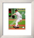 Josh Beckett 2008 Pitching Action Framed Photographic Print