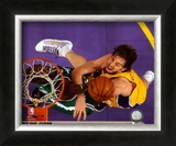 Pau Gasol, Game 3 of the 2008 NBA Finals; Action 11 Framed Photographic Print