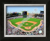 Turner Field - 2009 Opening Day Framed Photographic Print