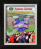 Florida Gators National Champions Framed Photographic Print