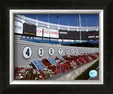 Monument Park at Yankee Stadium; 2004 Framed Photographic Print