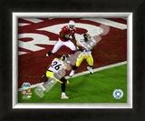 James Harrison Interception - Super Bowl XLIII Framed Photographic Print