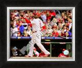 Ryan Howard Game 4 of the 2008 MLB World Series Framed Photographic Print