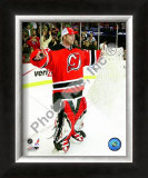 Martin Brodeur Winningest Goaltender in NHL history with 552 wins Framed Photographic Print
