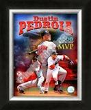 Dustin Pedroia 2008 MVP Framed Photographic Print