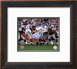 Eli Manning - Super Bowl XLII Framed Photographic Print
