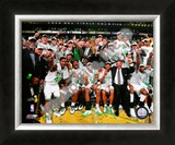 2007-2008 Boston Celtics NBA Finals Champions Framed Photographic Print