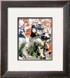 """Ed """"Too tall"""" Jones action Framed Photographic Print"""
