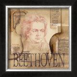 Tribute to Beethoven Prints by Marie Louise Oudkerk