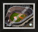 Aerial view of Yankee Stadium - 2008 MLB All-Star Game Framed Photographic Print