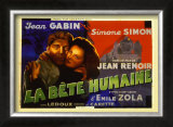La Bete Humaine Poster