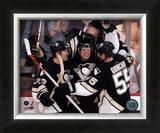 Sidney Crosby - 1st Goal / Celebration Framed Photographic Print