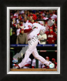 Jayson Werth Game 5 of the 2008 World Series Framed Photographic Print