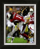Troy Polamalu - Super Bowl XLIII Framed Photographic Print