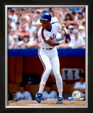 Darryl Strawberry - Batting Action Framed Photographic Print