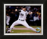 Mark Buehrle -  '05  World Series Game 2  / Action Framed Photographic Print