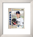 Jake Peavy Framed Photographic Print