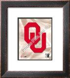 Oklahoma University 2008 Logo Framed Photographic Print