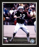Ken Stabler - Passing Action Framed Photographic Print