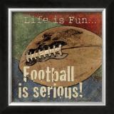 Football Art by Jo Moulton