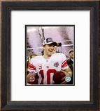 Eli Manning - Super Bowl XLII Framed Photographic Print
