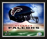 Atlanta Falcons Helmet Logo ©Photofile Framed Photographic Print