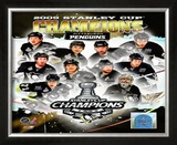 2008-09 Pittsburgh Penguins Stanley Cup Champions Framed Photographic Print