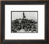 Theodore Roosevelt and The Rough Riders Framed Photographic Print