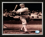 Shoeless Joe Jackson - Batting, Framed Photographic Print