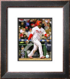 Ryan Howard Game 3 of the 2008 MLB World Series Framed Photographic Print