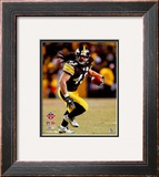 Troy Polamalu 2008 AFC Championship Framed Photographic Print