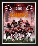 2005 - Chiefs Composite Framed Photographic Print